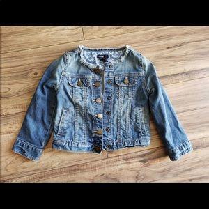 Gap toddler girls jeans jacket 3t